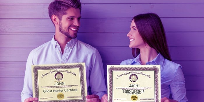 Man and woman certification